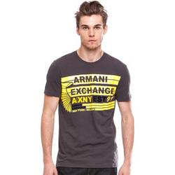Ảnh số 17: Armani Exchange CROSS STRIPE LOGO TEE - Giá: 650.000