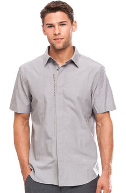 Ảnh số 11: Armani Exchange Short Sleeve A|X Logo Placket Shirt - Giá: 1.100.000