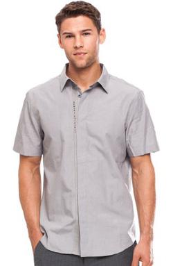Ảnh số 11: Armani Exchange Short Sleeve A|X Logo Placket Shirt - Giá: 1.100.000