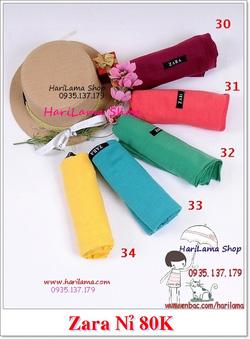 Ảnh số 8: Các màu khăn Zara nỉ - Giá: 123.456