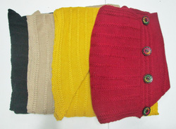 Ảnh số 8: áo len vạt xéo - Giá: 130.000