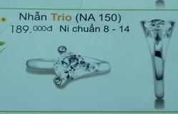 Ảnh số 29: nhẫn trio - Giá: 189.000