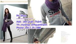 Ảnh số 53: Khăn Zara 90k (nhiều màu) làm đc khăn đôi nhé - Giá: 90.000