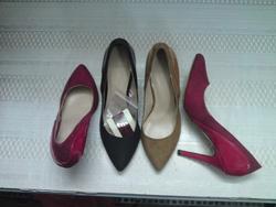 Ảnh số 49: Zara 9p bọc gót bóng (giảm giá còn 300k từ 14 đến 20/1/2013) (ko còn size 35) - Giá: 330.000