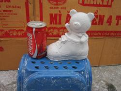 Ảnh số 42: tô tượng gấu giầy - Giá: 7.000