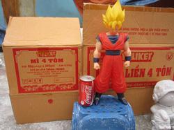 Ảnh số 50: tô tượng Songoku to - Giá: 15.000