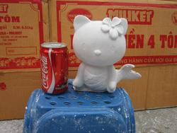 Ảnh số 37: tô tượng mèo kitty cá - Giá: 10.000