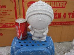 Ảnh số 23: tô tượng Đoremon Mũ len - Giá: 10.000