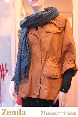 Ảnh số 7: Áo khoác dài xuất xịn Massimo Dutti - Giá: 525.000