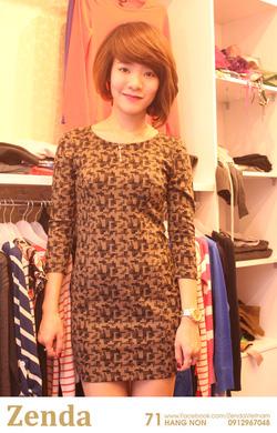 Ảnh số 35: Đầm MANGO nữ chấm bi màu đậm - Giá: 320.000