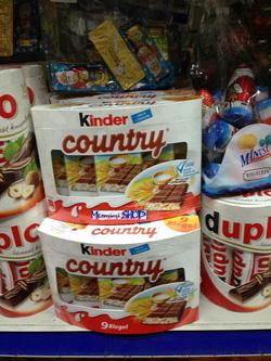 Ảnh số 46: Socola Kinder Country - Giá: 140.000