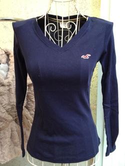 Ảnh số 93: áo hollister cổ tim hàng xuất - Giá: 95.000