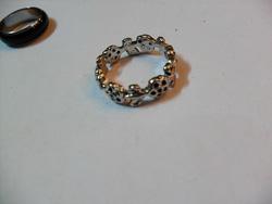 Ảnh số 33: nhẫn khắc viền hoa - Giá: 35.000