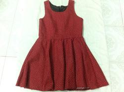 Ảnh số 6: váy chấm bi đỏ - Giá: 150.000