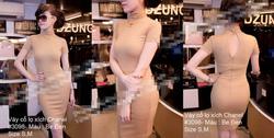 Ảnh số 28: Váy cổ cao chanel - Giá: 450.000