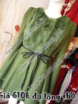 Ảnh số 10: áo dạ cổ llong - Giá: 550.000