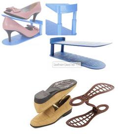 Ảnh số 2: Giá xếp giày thông minh double&double đang quảng cáo trên kênh TV shopping (kệ xếp giày dép double & double) địa chỉ bán rẻ nhất: Sản Phẩm Sáng Tạo - Giá: 135.000