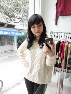 Ảnh số 27: áo len thừng quả trám (đã bán) - Giá: 350.000