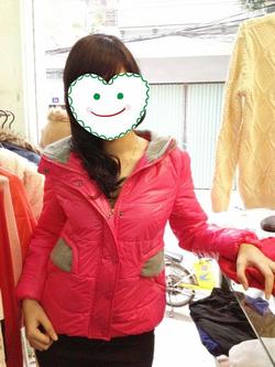 Ảnh số 59: áo phao mũ len - Giá: 360.000