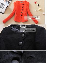 Ảnh số 38: áo dạ  thời trang Hàn - Giá: 450.000