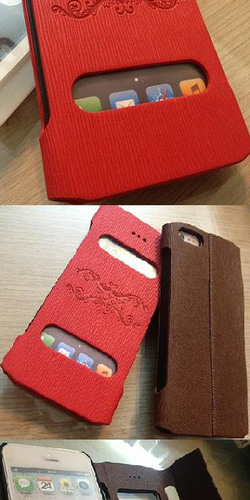Ảnh số 4: Bao da ROCK mở khóa IPhone 5: - Giá: 290.000