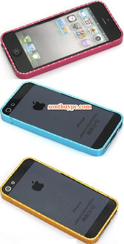 Ảnh số 7: Viền iphone 5 inox cross line: - Giá: 150.000