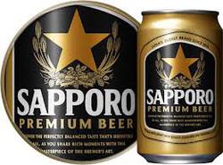 Ảnh số 1: bia sapporo - Giá: 165.000