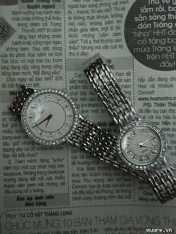 Ảnh số 7: Đồng hồ,Piaget cho nữ, nam đ&iacutenh đá s&aacuteng lung linh,k&iacutenh saphia,m&aacutey nhật - Giá: 600.000