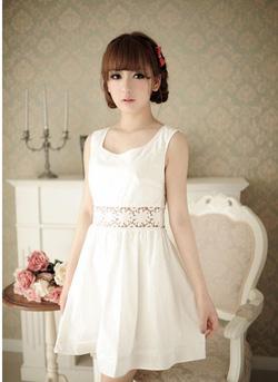 Ảnh số 82: Váy đai ren - Giá: 205.000