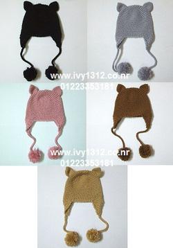 Ảnh số 91: Mũ len tai mèo - Giá: 120.000