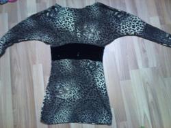 Ảnh số 35: Váy da báo đi may theo size s, bo nhung ở eo mặc rất thon, ko lộ bụng 220k - Giá: 220.000