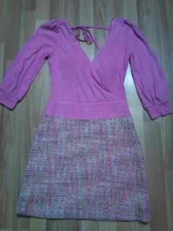 Ảnh số 40: Váy dạ pha cotton size s nếu hở cổ wa thì có thể mặc quây bên trong - Giá: 280.000