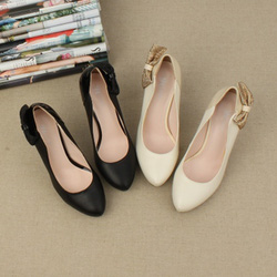 Ảnh số 20: Giày cao gót kết nơ 2 bên CG20 - Giá: 650.000