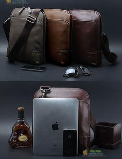 Ảnh số 24: Túi da cao cấp cho ipad LEEHOES bag for Men - Giá: 139.000