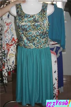 Ảnh số 88: Đầm nữ dài hoa văn sành điệu DB11 - Giá: 380.000