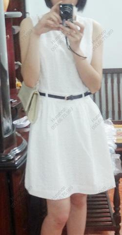Ảnh số 26: Váy trắng thêu hoa nhí F21: 330.000 - Giá: 220.000