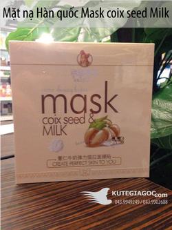 Ảnh số 77: Mặt nạ Hàn quốc Mask coix seed Milk 20k/miếng, 90k/hộp 5 miếng - Giá: 20.000