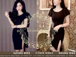 Ảnh số 30: Váy ngọc xẻ đùi fake Dzung - Giá: 250.000