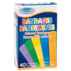 Ảnh số 19: Assured® colored bandages - Giá: 80.000