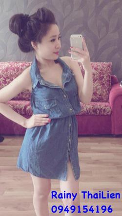 Ảnh số 14: Váy jean bụi - Giá: 400.000