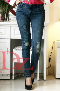 Ảnh số 1: jeans rách - Giá: 245.000
