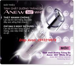 Ảnh số 79: Tinh chất giúp trắng da Anew 360 White 30ml - Giá: 189.000