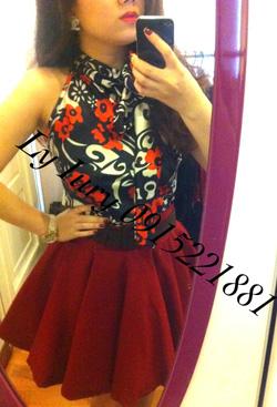Ảnh số 15: áo yếm hoa đỏ 490k. váy 800k - Giá: 800.000
