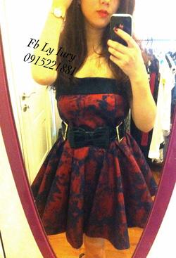 Ảnh số 30: váy bò xòe ánh nhũ cực xinh hàn quốc - Giá: 800.000