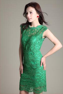 Ảnh số 6: Váy ren dự tiệc LADYROY-3814 - Giá: 430.000