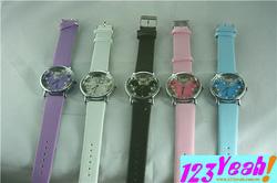 Ảnh số 25: Đồng hồ đeo tay mặt Mickey hột thưa DHTT17 - Giá: 120.000