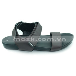 Ảnh số 56: Sandals Prada da nâu quai dán - Giá: 400.000