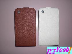 Ảnh số 3: Bao da nấp gập iphone 3g,s sành điệu BNN8 - Giá: 150.000