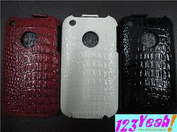 Ảnh số 8: Bao da bật nắp cá sấu iphone 3G.3GS BNN3 - Giá: 230.000