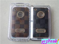 Ảnh số 18: Ốp LV đính hột tròn cực đẹp cho iphone 3G.3GS OV15 - Giá: 270.000